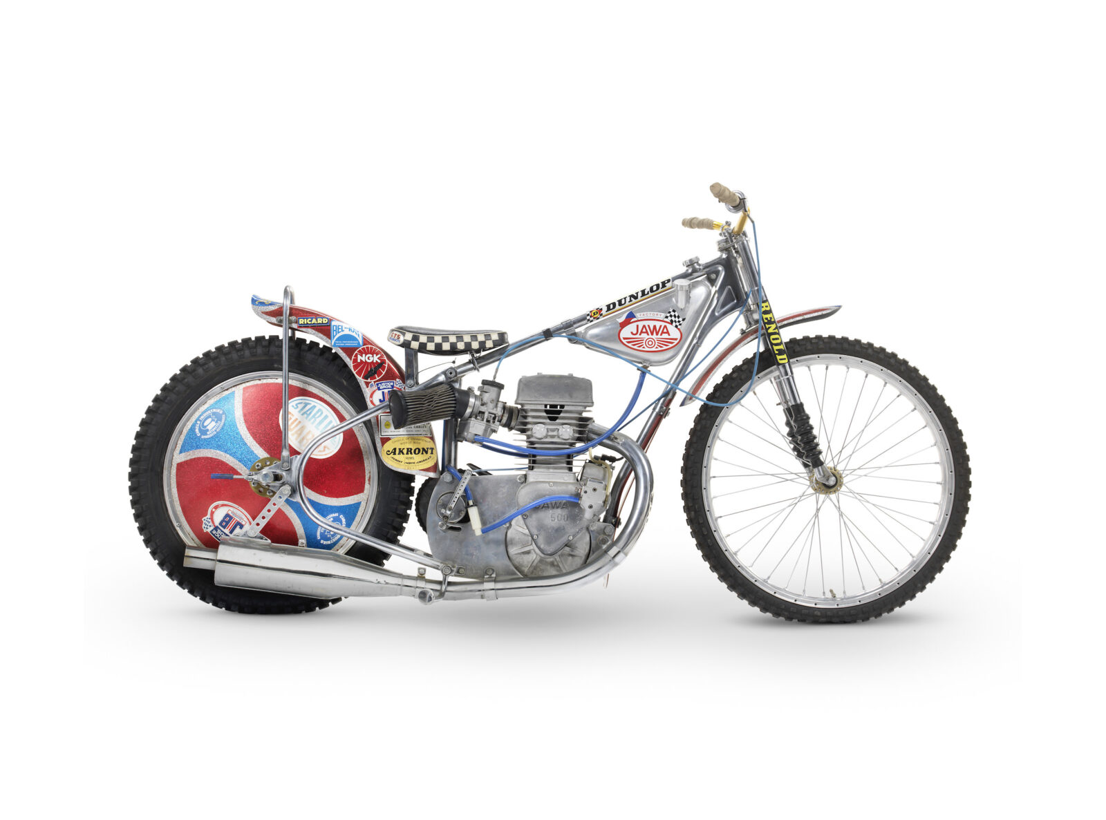 Jawa Speedway Racing Motorcycle 1600x1187 - 1977 Speedway World Championship Final Winning Jawa Racer