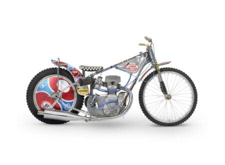 Jawa Speedway Racing Motorcycle 450x330 - 1977 Speedway World Championship Final Winning Jawa Racer
