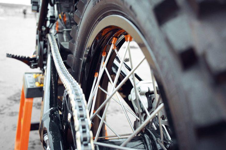 KTM Custom Motorcycle Retro 7 740x493 - Retro Racer: KTM 400 EXC-R