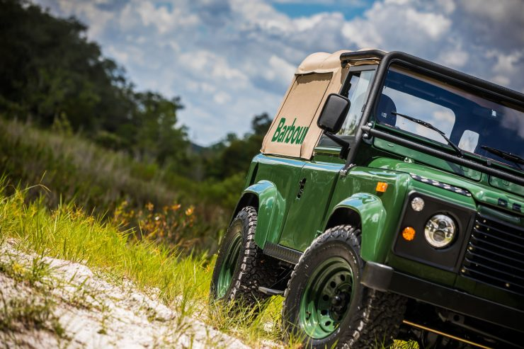 Land Rover Defender Custom 4x4 Car 1 740x493 - Project Barbour by East Coast Defender