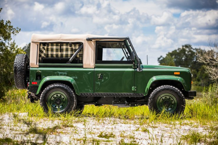 Land Rover Defender Custom 4x4 Car 11 740x493 - Project Barbour by East Coast Defender