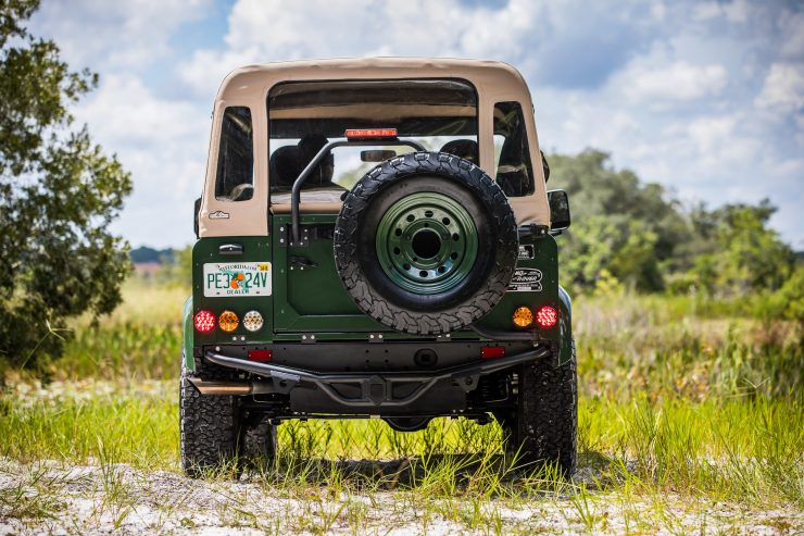 Land Rover Defender Custom 4x4 Car 12 740x493 - Project Barbour by East Coast Defender