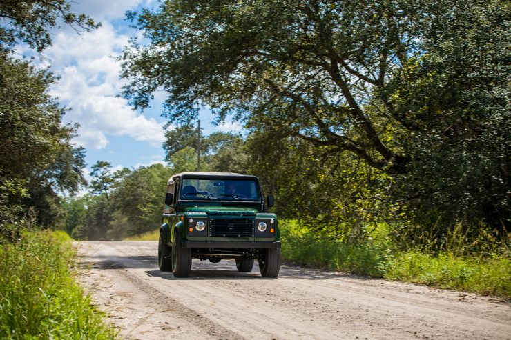 Land Rover Defender Custom 4x4 Car 14 740x493 - Project Barbour by East Coast Defender