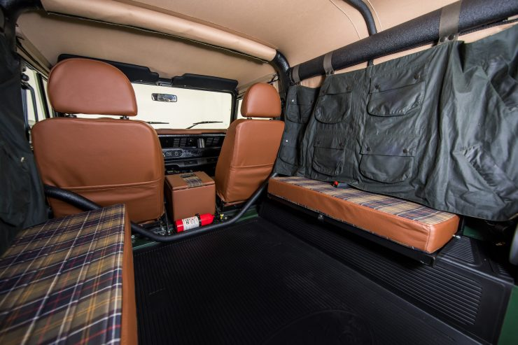 Land Rover Defender Custom 4x4 Car 3 740x493 - Project Barbour by East Coast Defender