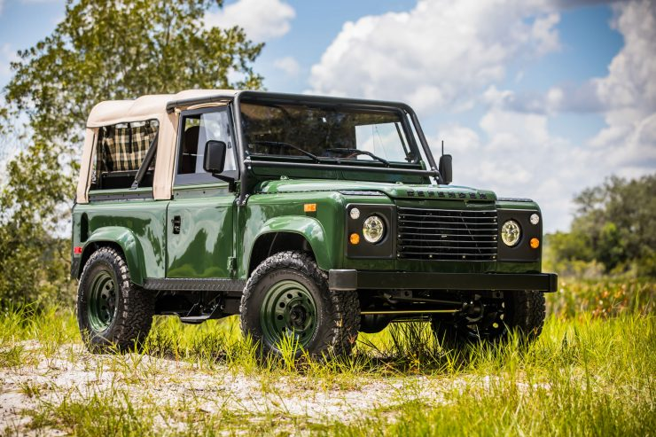 Land Rover Defender Custom 4x4 Car 740x493 - Project Barbour by East Coast Defender