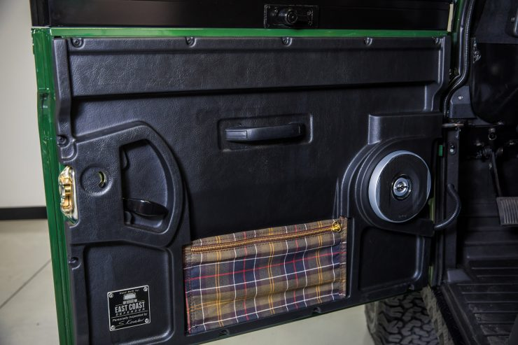 Land Rover Defender Custom 4x4 Car 8 740x493 - Project Barbour by East Coast Defender