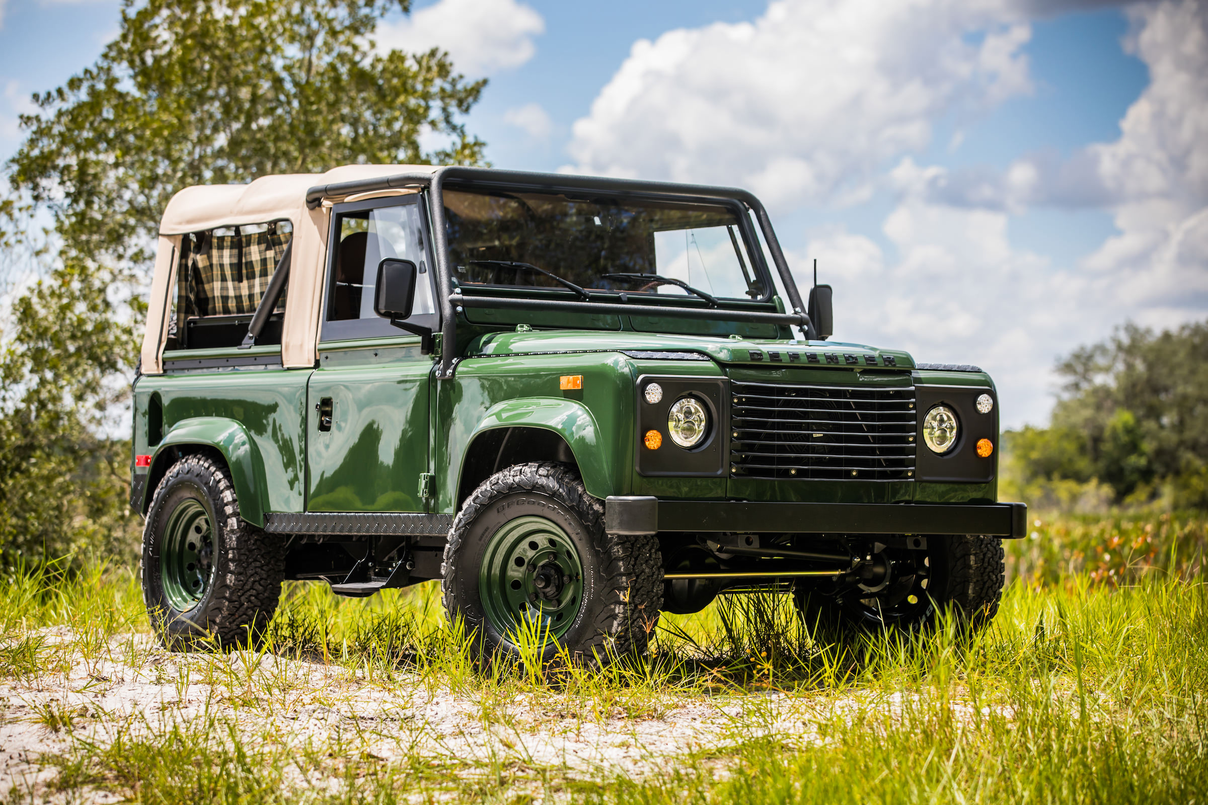 Project Barbour By East Coast Defender Land Rover 4x4 A Brief History Of The