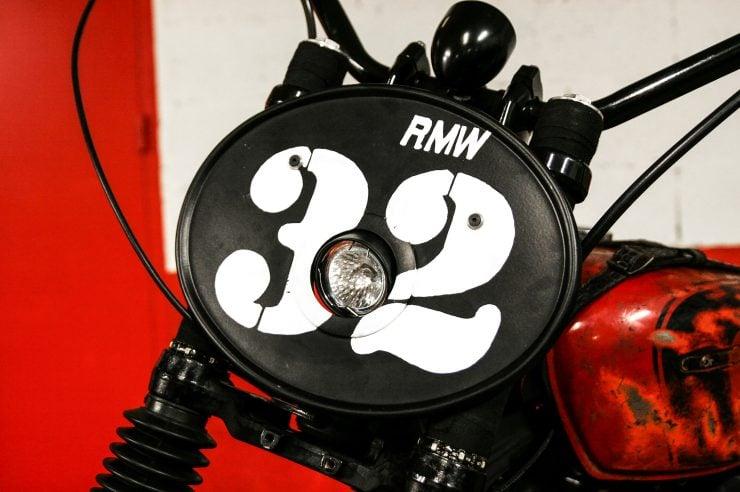 R.M. Williams x Blitz Motorcycles Kawasaki W650 11 740x492 - R.M. Williams x Blitz Kawasaki W650