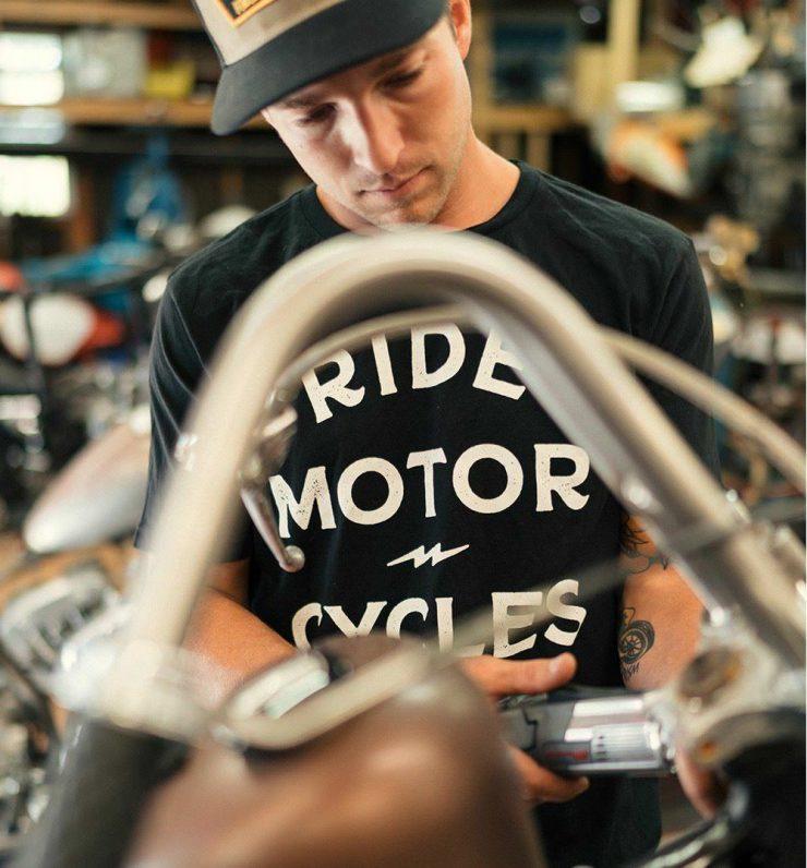 Ride Motor Cycles Tee 2 740x796 - Ride Motor Cycles Tee