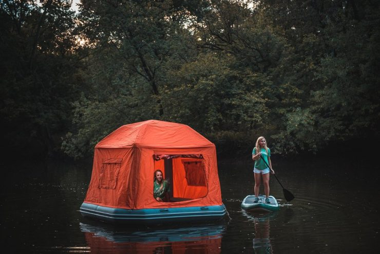 Shoal Floating Tent 1 740x494 - Shoal Floating Tent