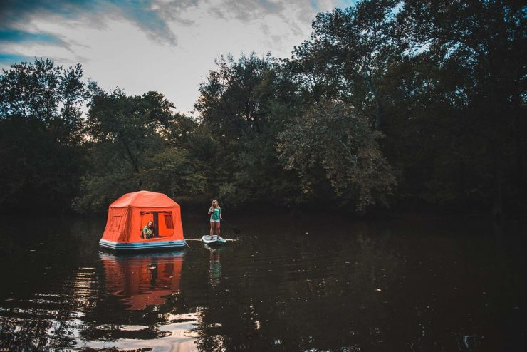 Shoal Floating Tent 740x494 - Shoal Floating Tent