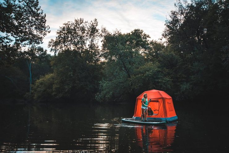 Shoal Tent Floating 740x494 - Shoal Floating Tent