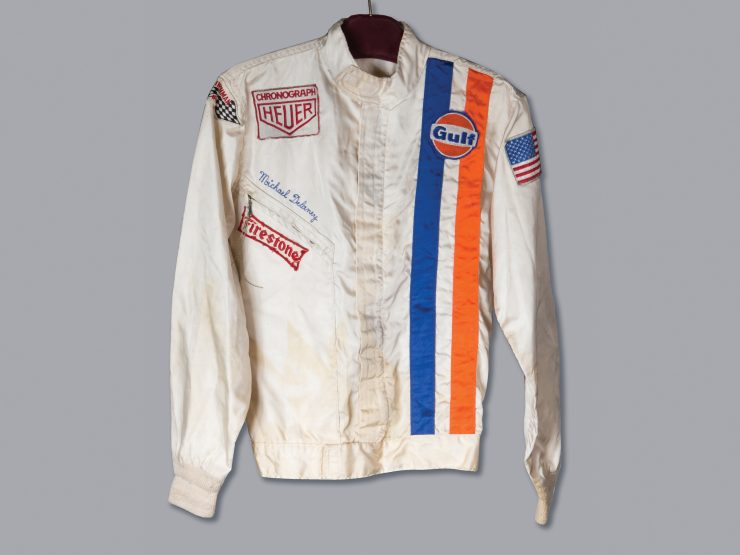 "Steve McQueens Race Suit and Helmet from Le Mans 2 740x555 - Steve McQueen's Race Suit From ""Le Mans"""