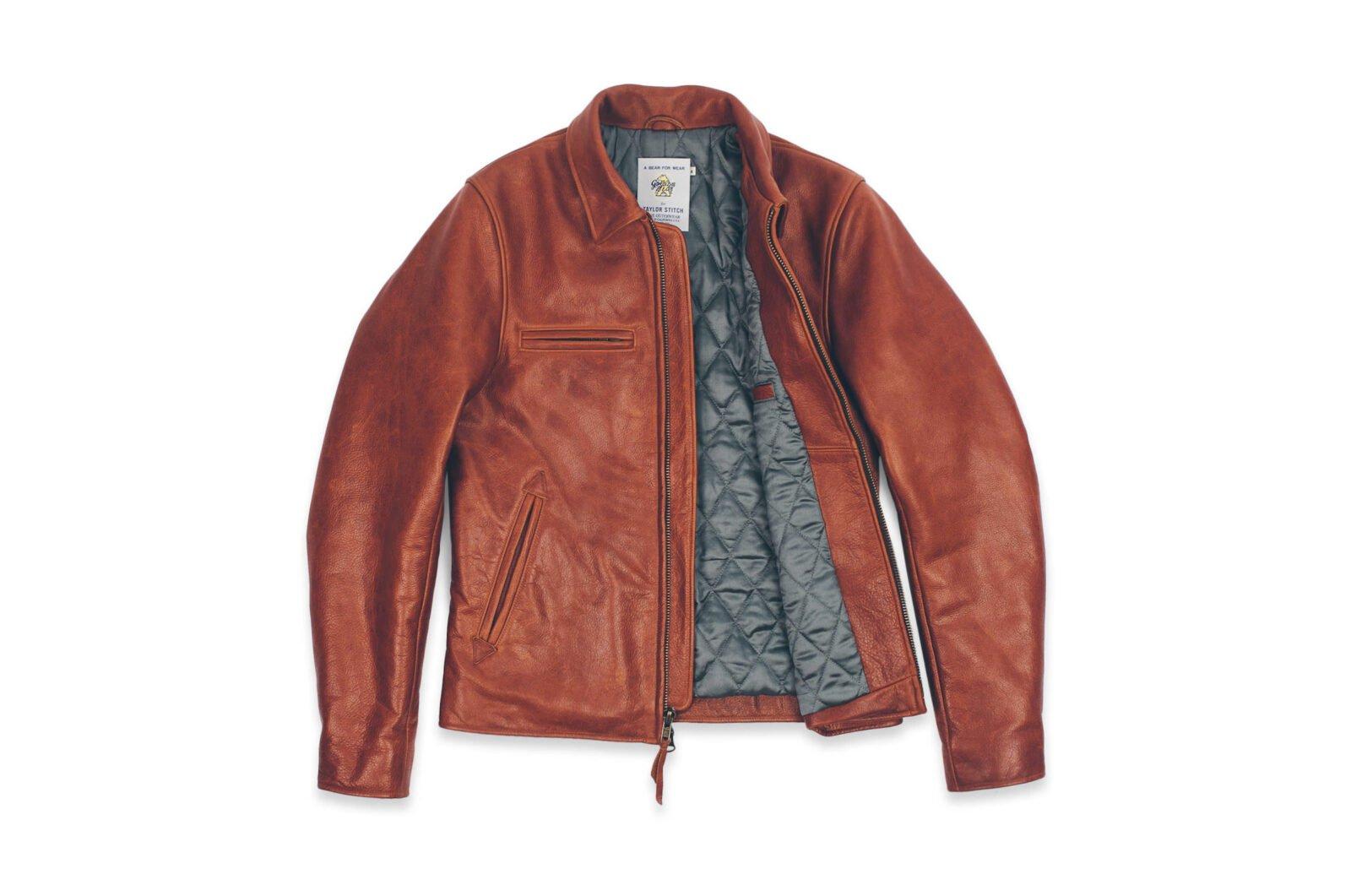 Taylor Stitch Whiskey Steerhide Moto Jacket 1 1600x1061 - Taylor Stitch + Golden Bear Whiskey Moto Jacket