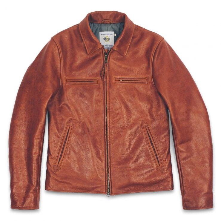 Taylor Stitch Whiskey Steerhide Moto Jacket 740x740 - Taylor Stitch + Golden Bear Whiskey Moto Jacket