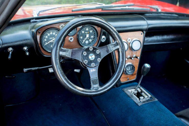 de tomaso vallelunga car 7 740x493 - 1967 De Tomaso Vallelunga