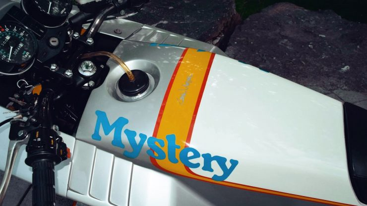 kawasaki mystery ship craig vetter motorcycle 11 740x416 - 1980 Kawasaki Mystery Ship