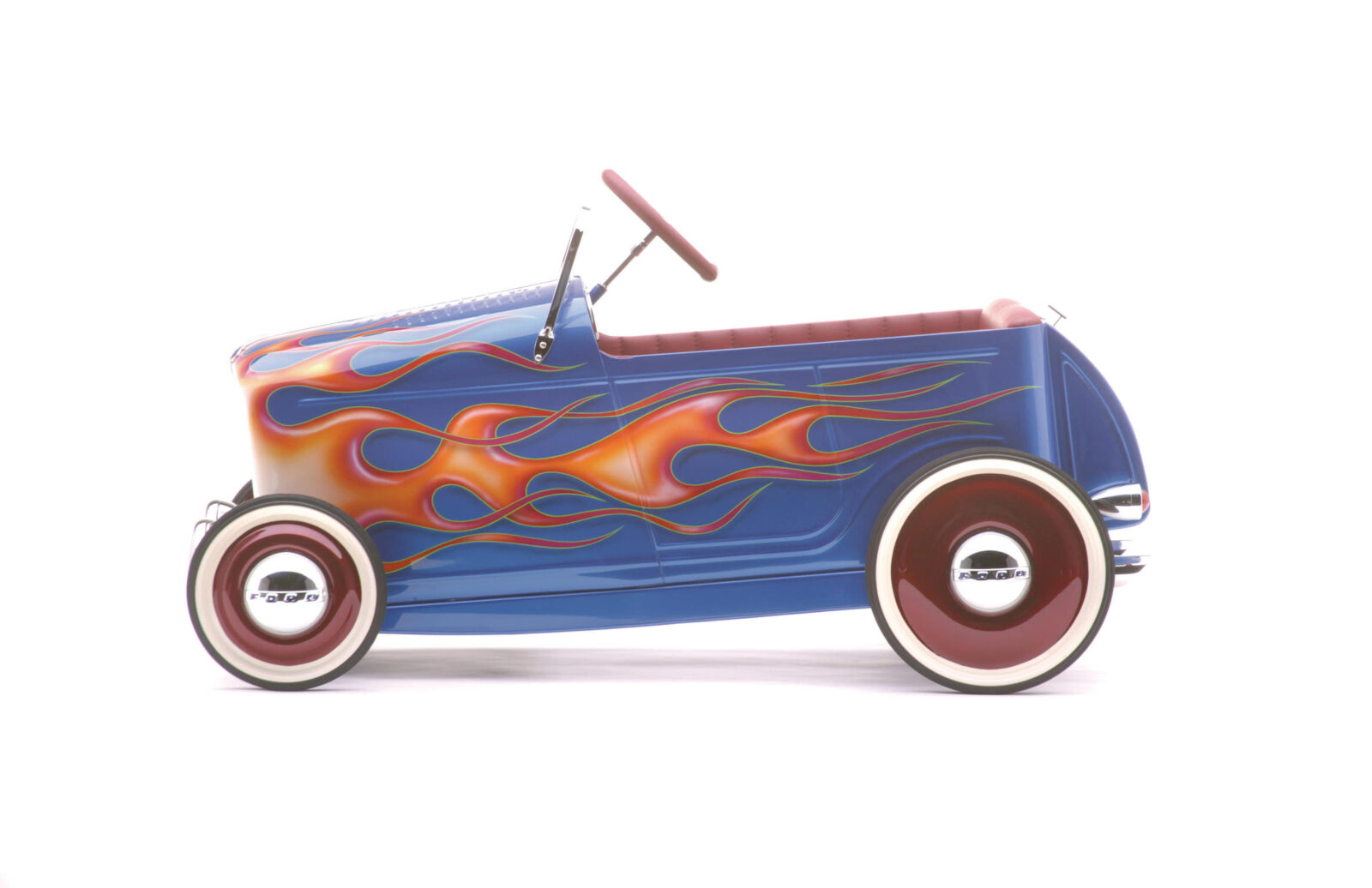 kids pedal car godson rodfather 1600x1036 - Kids' Pedal-Powered Hot Rod