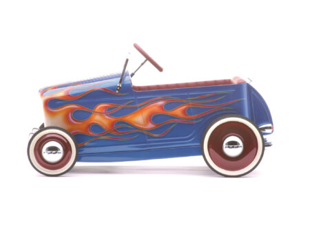kids pedal car godson rodfather 450x330 - Kids' Pedal-Powered Hot Rod