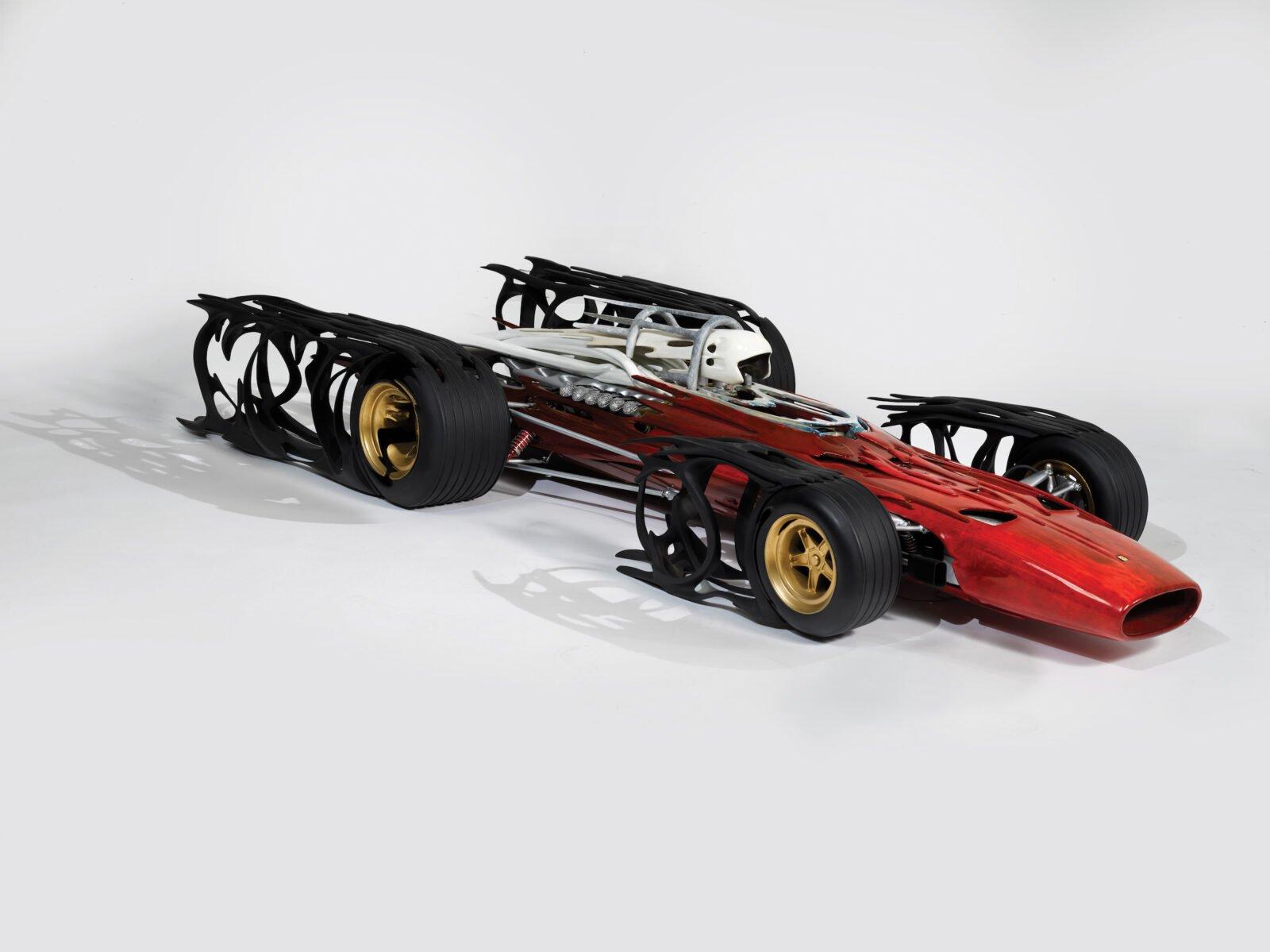 312 Ferrari by Dennis Hoyt 1600x1199 - Ferrari 312 by Dennis Hoyt