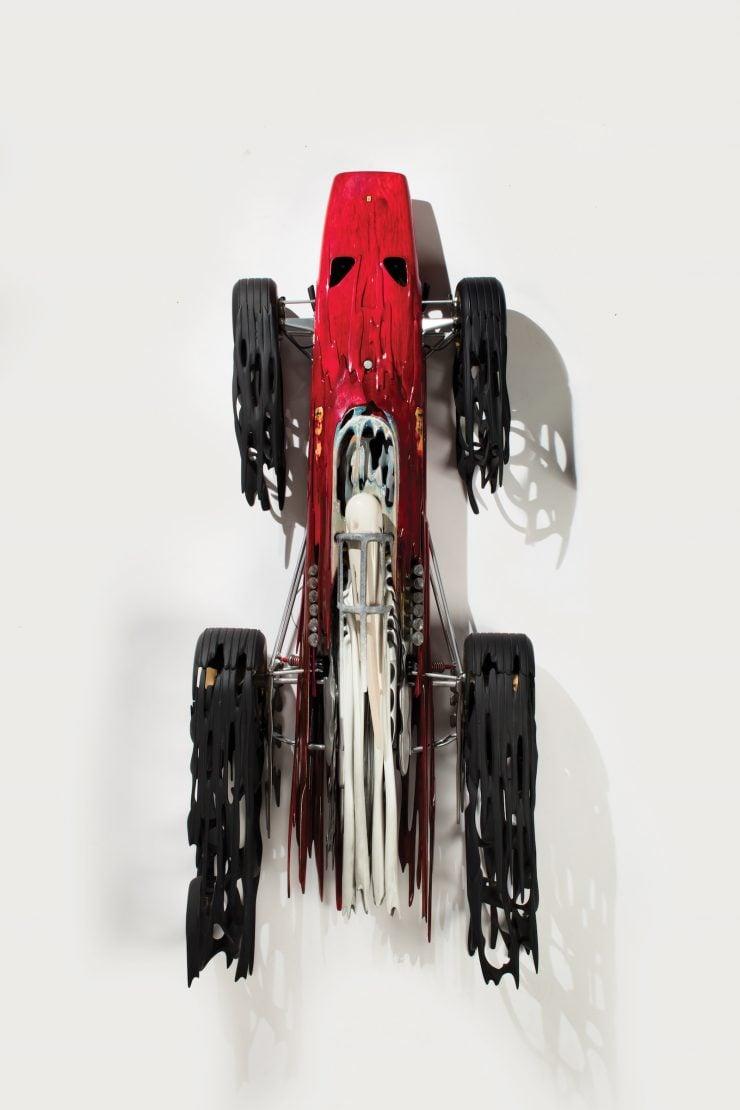 312 Ferrari by Dennis Hoyt Car Art 740x1110 - Ferrari 312 by Dennis Hoyt