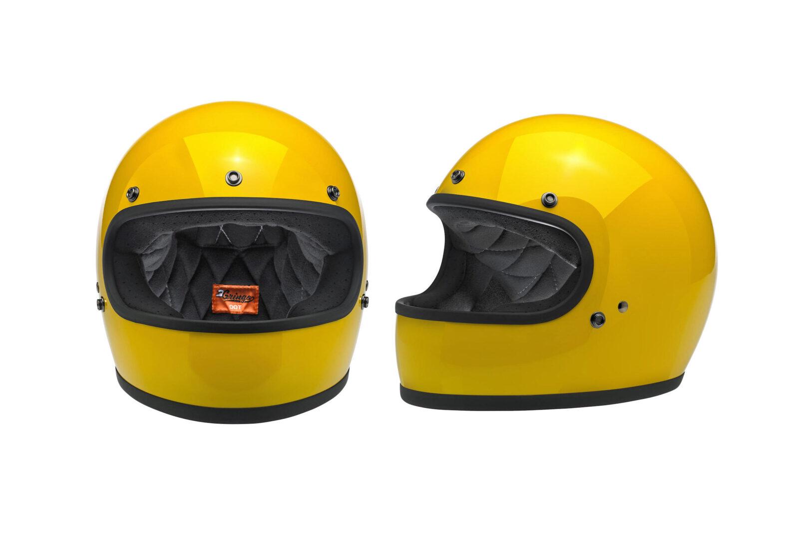 Biltwell Gringo Helmet 1600x1067 - Biltwell Gringo Safe-T Yellow Helmet