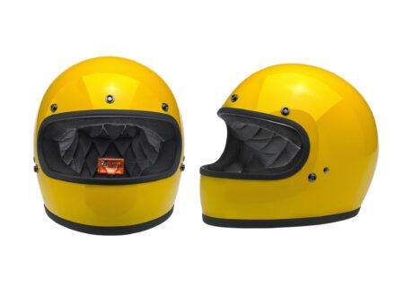 Biltwell Gringo Helmet 450x330 - Biltwell Gringo Safe-T Yellow Helmet