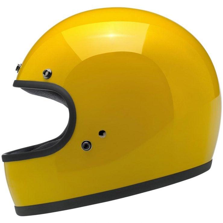 Biltwell Gringo Helmets 740x740 - Biltwell Gringo Safe-T Yellow Helmet