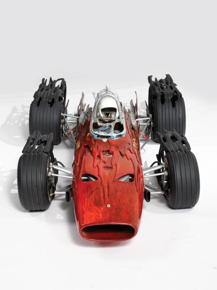 Ferrari Car 740x987 - Ferrari 312 by Dennis Hoyt