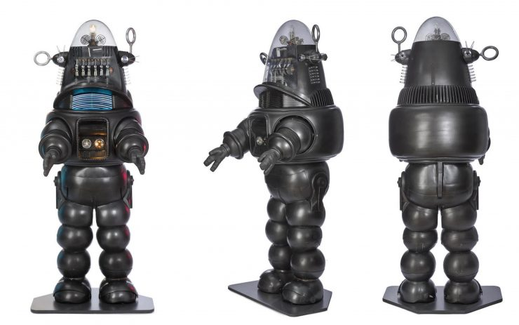 Forbidden Planet Robby The Robot 740x463 - The Jeep + Robby the Robot from Forbidden Planet - 1956