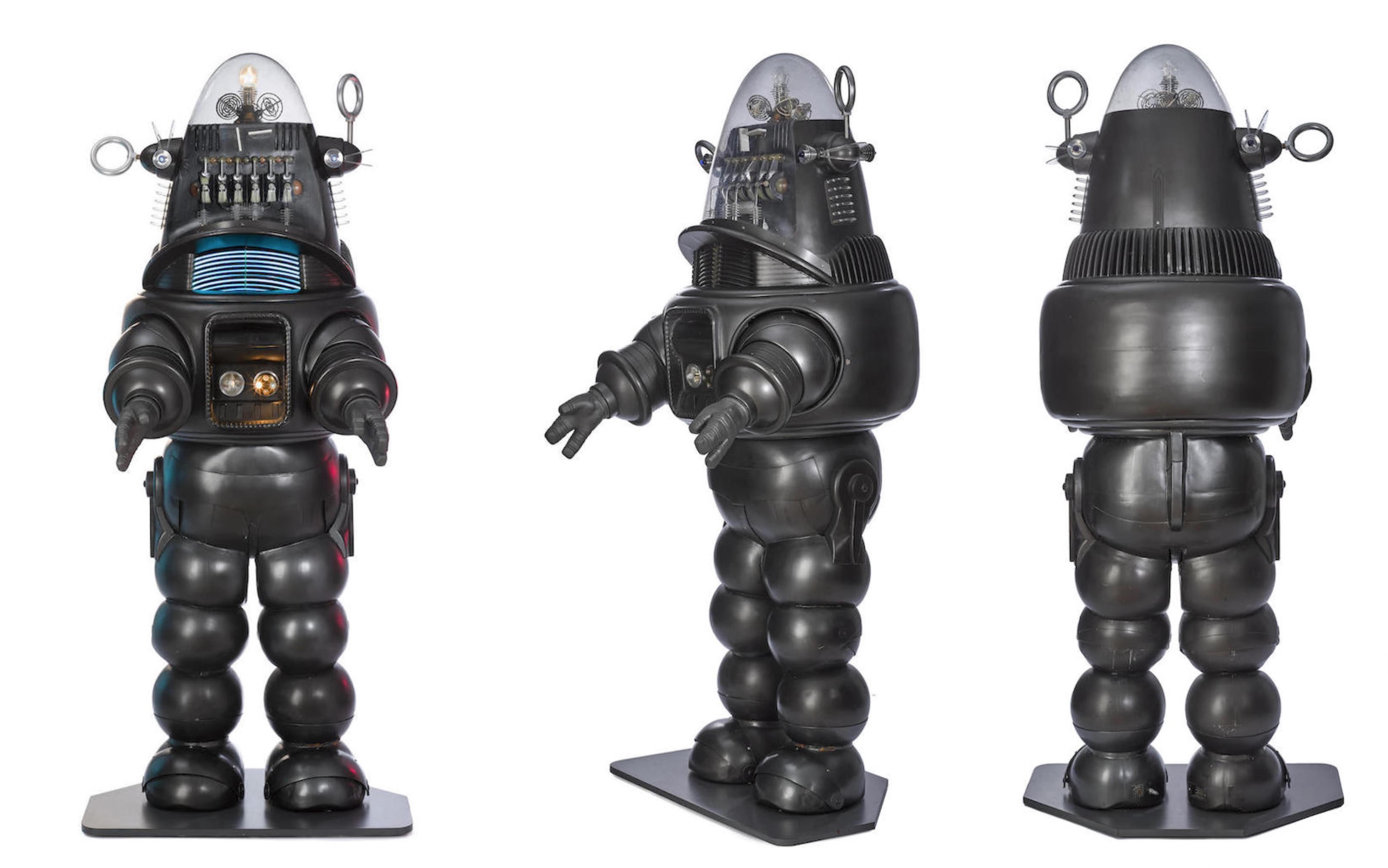 The Jeep + Robby the Robot from Forbidden Planet - 1956