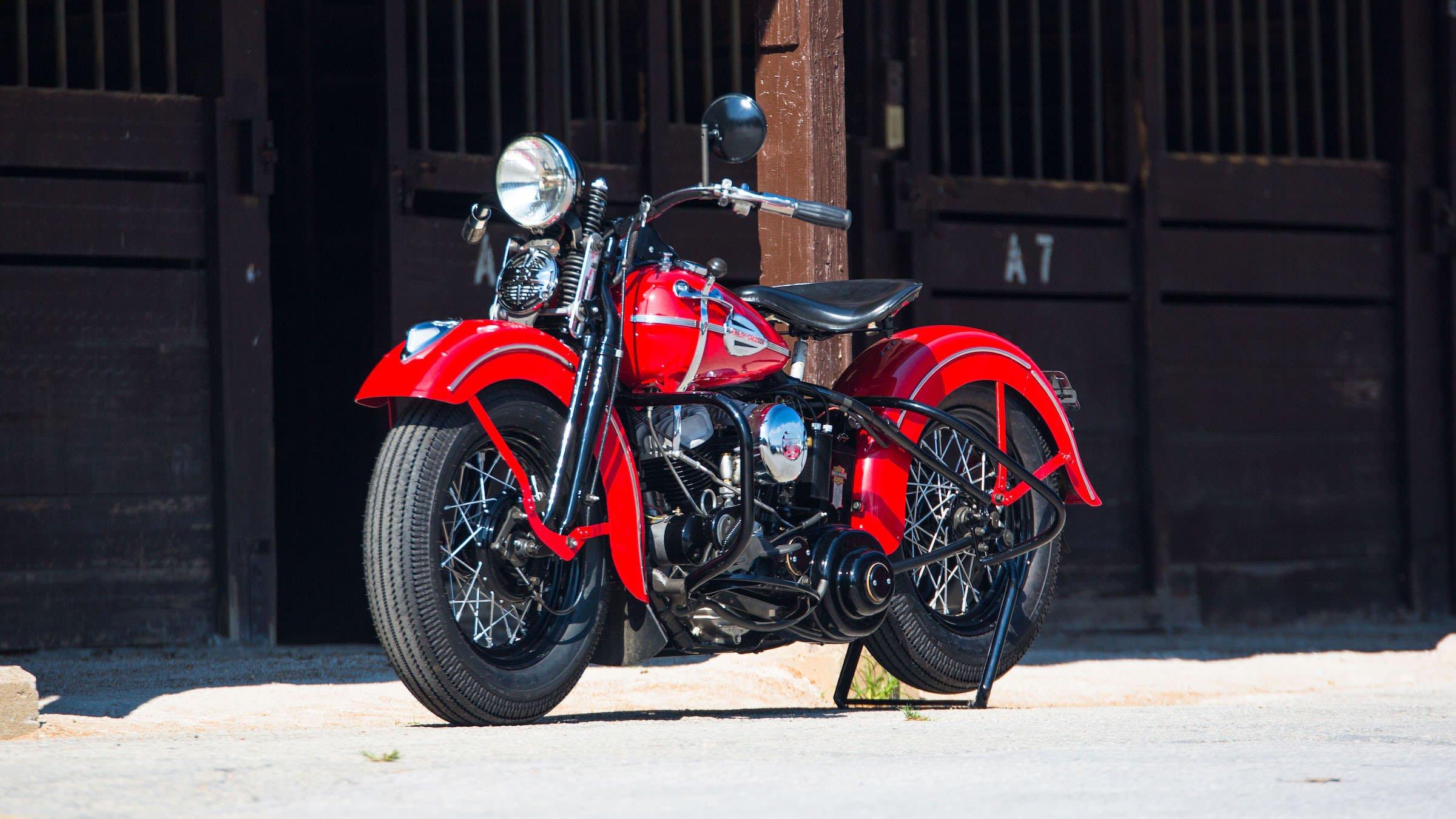 Harley Davidson: 1941 Harley-Davidson WLD