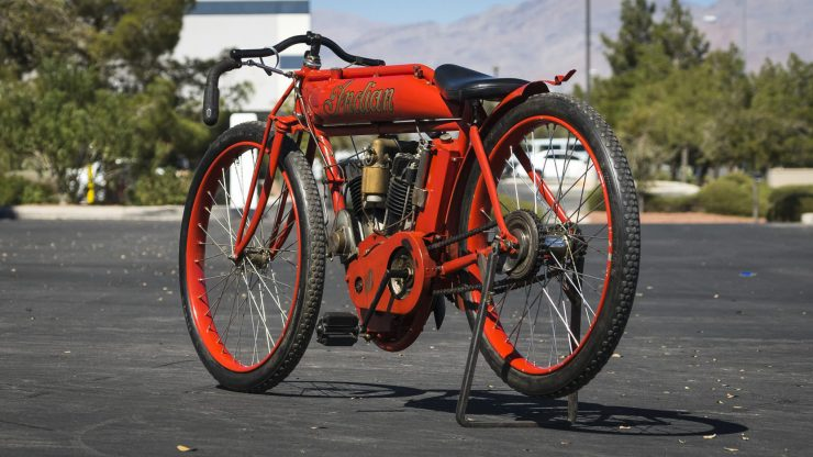 Indian Board Track Racer 4 740x416 - 1912 Indian Twin Board Track Racer