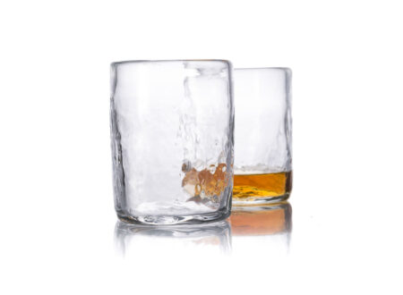 Natural Glass Whiskey Tumblers 1 450x330 - Natural Glass Whiskey Tumblers