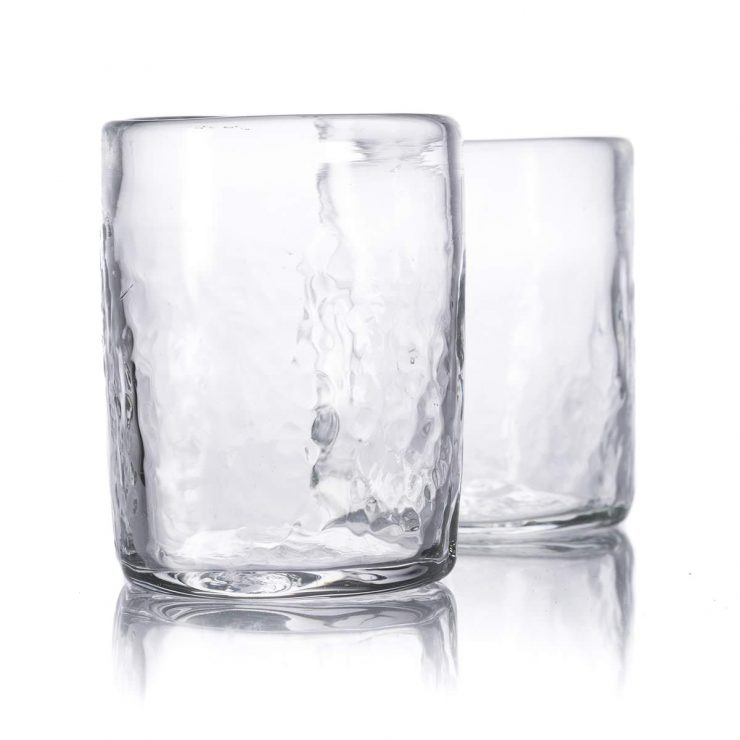 Natural Glass Whiskey Tumblers 740x740 - Natural Glass Whiskey Tumblers