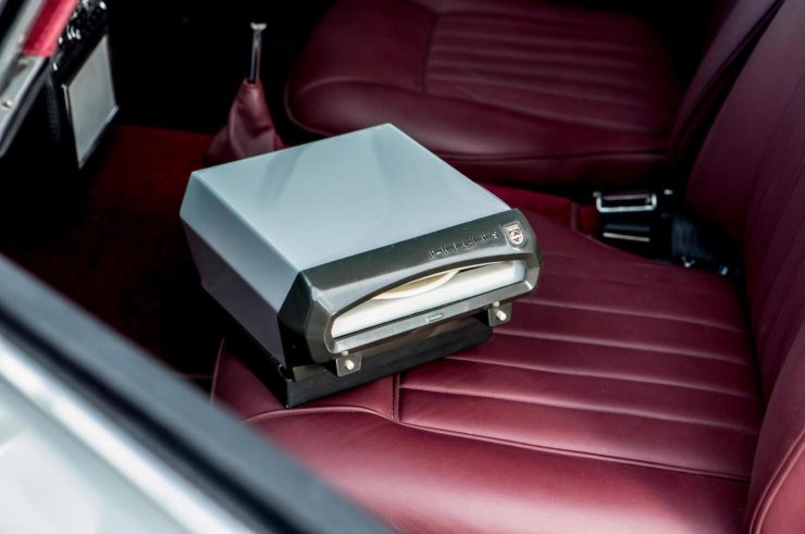 Philips Auto Mignon record player 740x491 - Paul McCartney's Aston Martin DB5