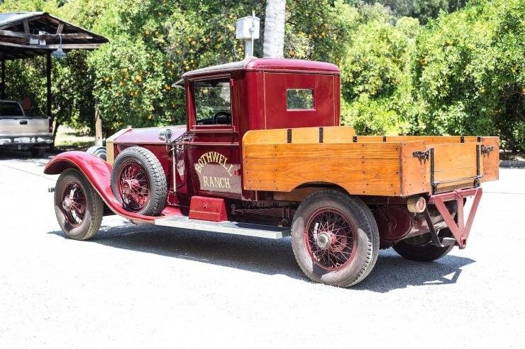 Rolls Royce Silver Ghost Pick Up Truck 1 740x493 - 1926 Rolls-Royce Silver Ghost Pickup Truck