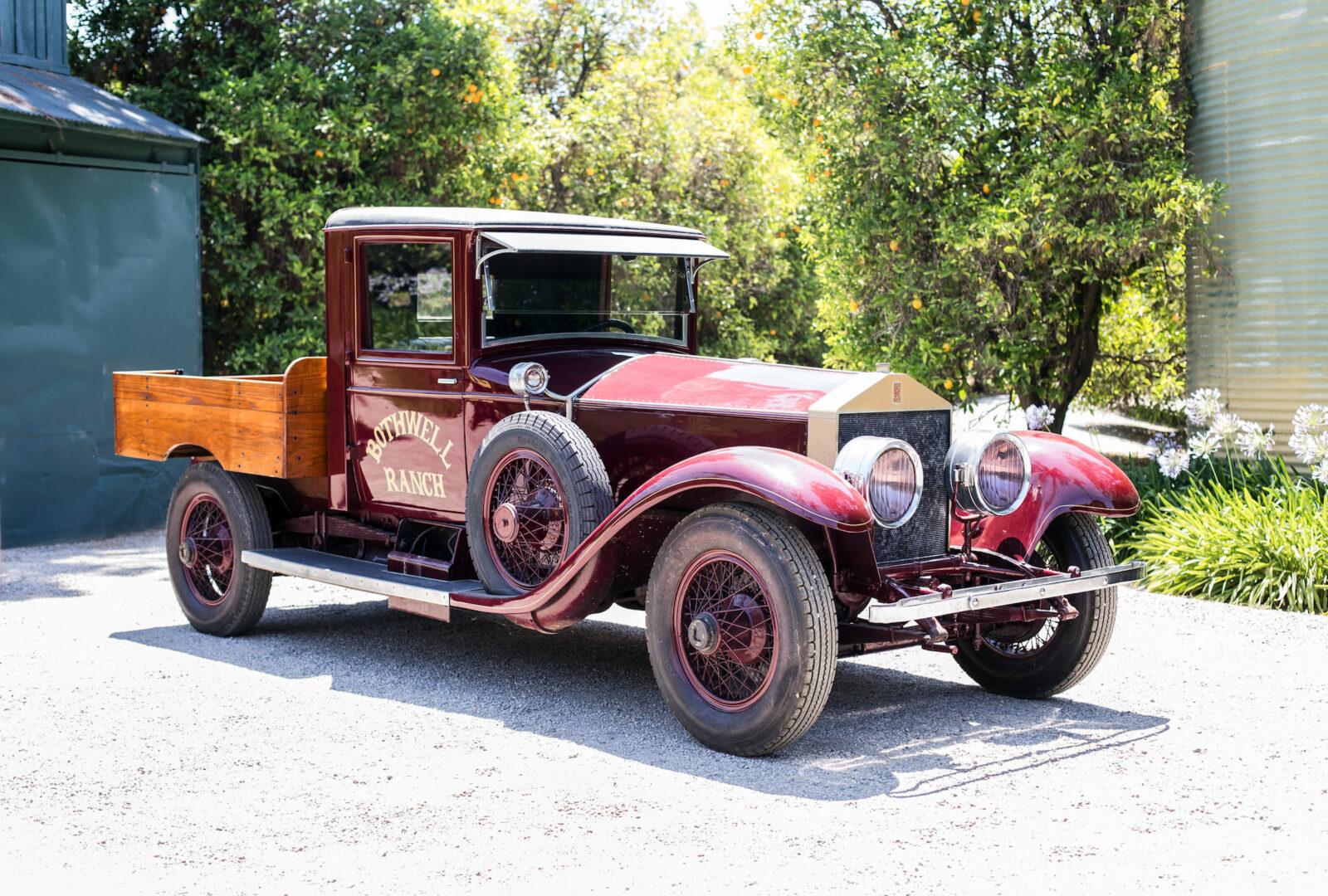 Rolls Royce Silver Ghost Pick Up Truck 1600x1080 - 1926 Rolls-Royce Silver Ghost Pickup Truck
