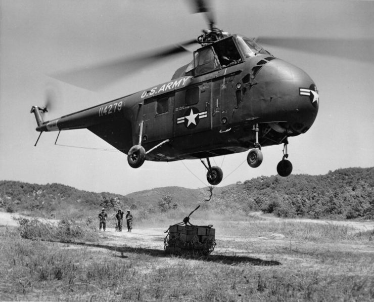 Sikorsky H 19 Chickasaw 1 740x597 - 1961 U.S. Air Force Training Film: Helicopter Rescue Operations