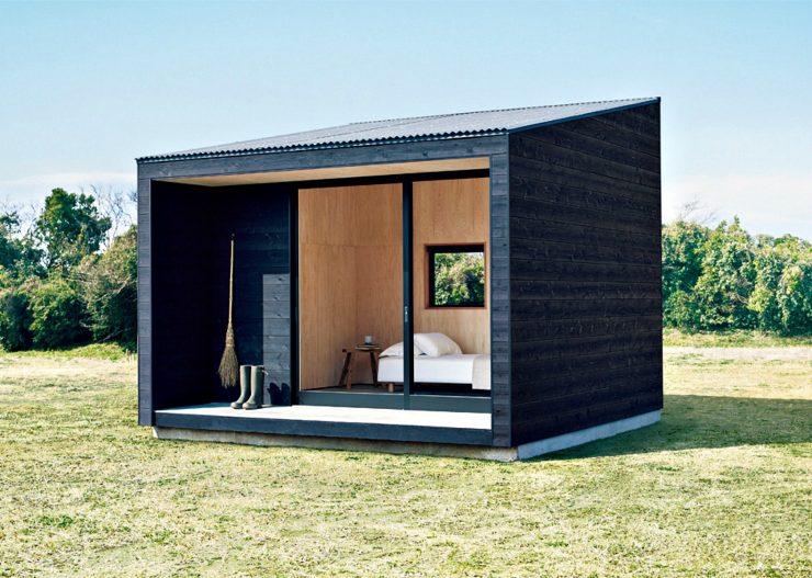 Tiny Muji House 740x527 - The $26,300 Muji Hut