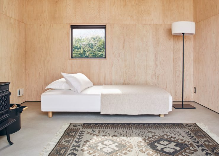 Tiny Muji House Interior 740x527 - The $26,300 Muji Hut