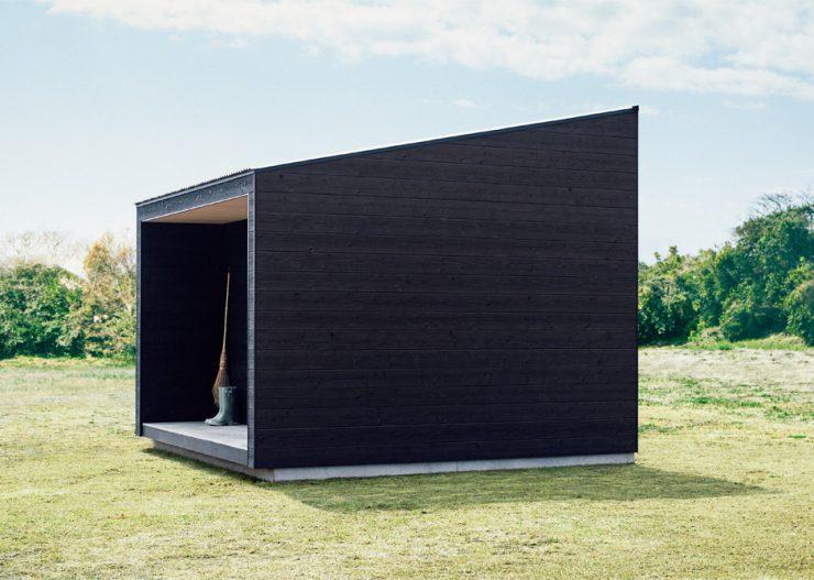 Tiny Muji House Side 740x527 - The $26,300 Muji Hut