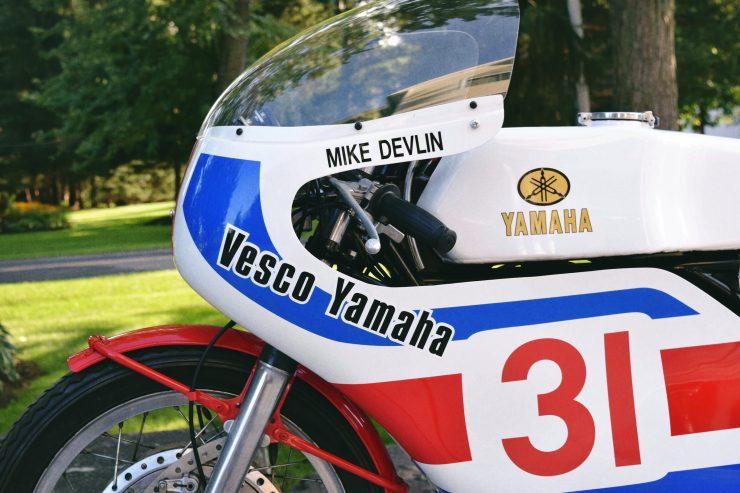 Yamaha TD3 10 740x493 - 1972 Yamaha TD3 Mike Devlin