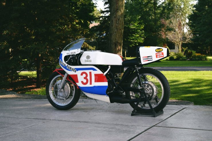 Yamaha TD3 3 740x493 - 1972 Yamaha TD3 Mike Devlin