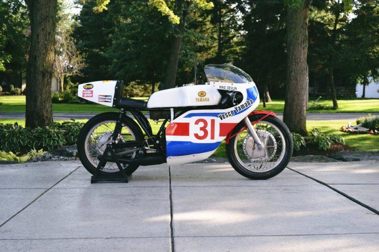 Yamaha TD3 740x493 - 1972 Yamaha TD3 Mike Devlin