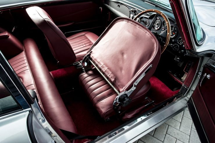 aston martin db5 car 11 740x493 - Paul McCartney's Aston Martin DB5