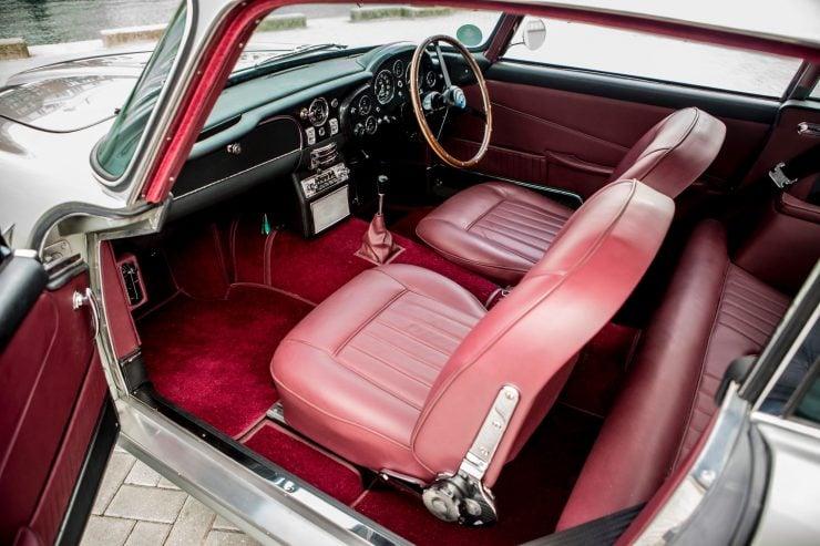 aston martin db5 car 13 740x493 - Paul McCartney's Aston Martin DB5