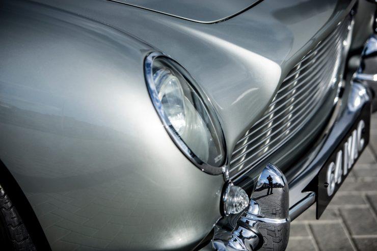aston martin db5 car 14 740x493 - Paul McCartney's Aston Martin DB5