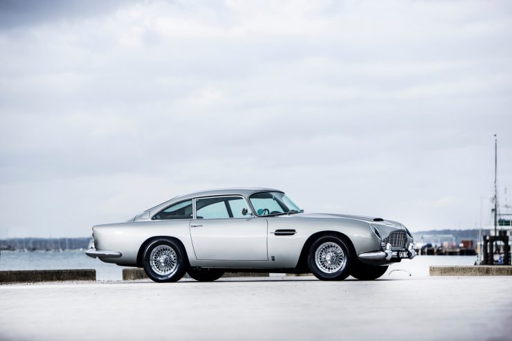 aston martin db5 car 5 740x493 - Paul McCartney's Aston Martin DB5