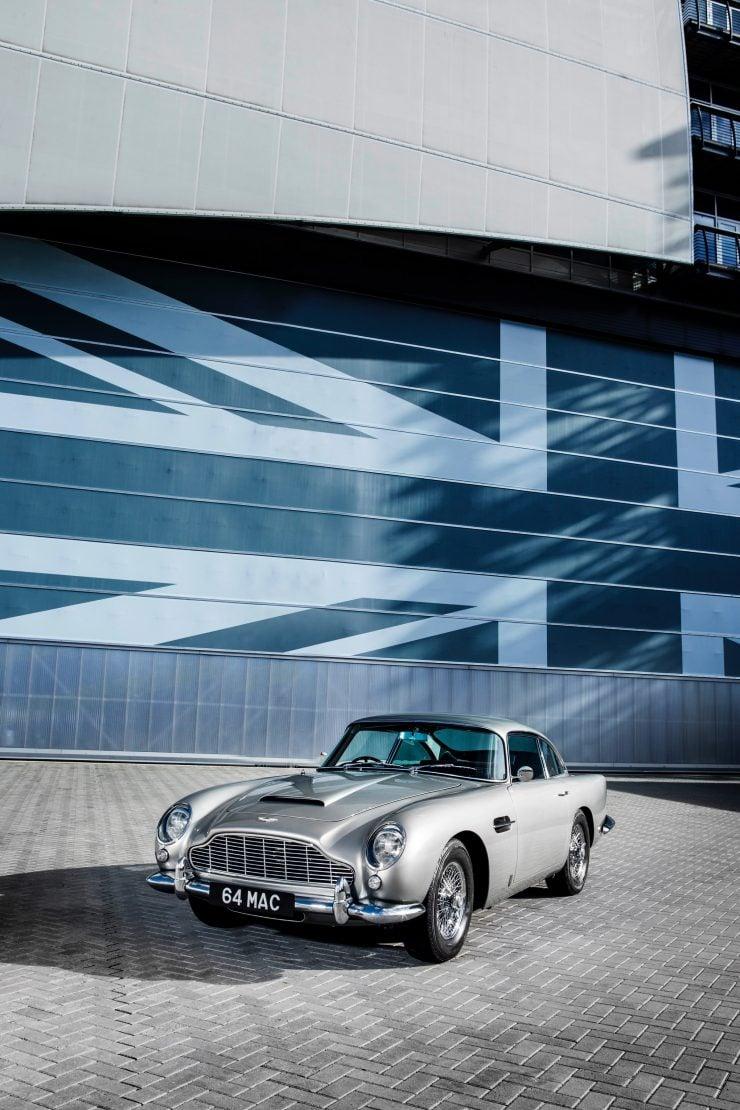 aston martin db5 car 6 740x1110 - Paul McCartney's Aston Martin DB5